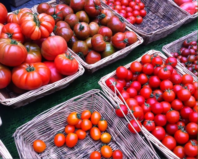 Brockley Market - tomatoes