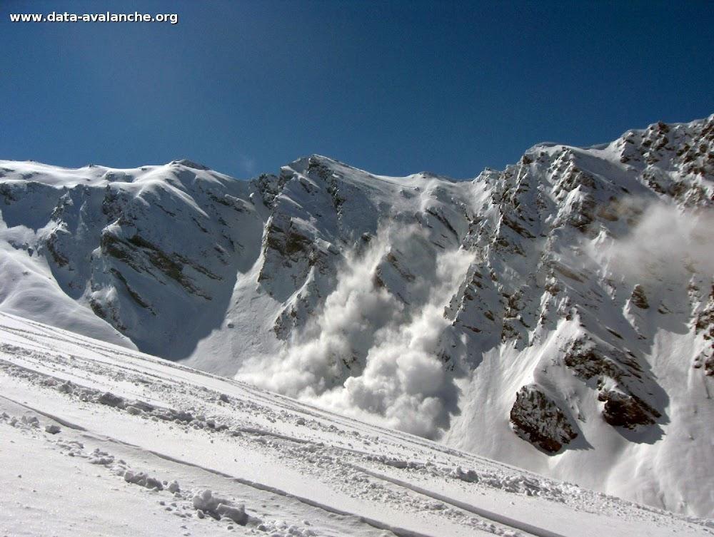 Avalanche Haute Maurienne, secteur Belle Plinier - Photo 1 - © Gonin Pierre
