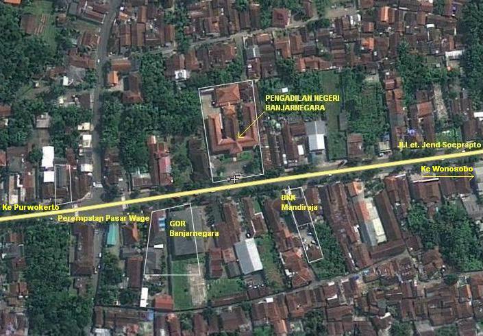 Peta PN Banjarnegara