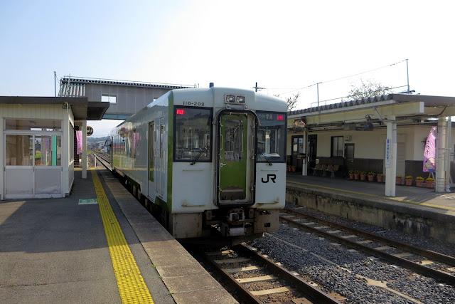 羽前小松駅