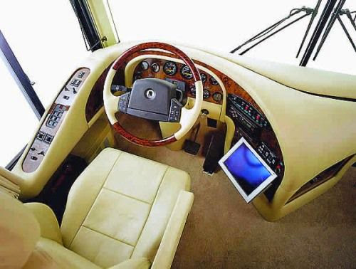 The luxurious dashboard of the world most expensive vehicle