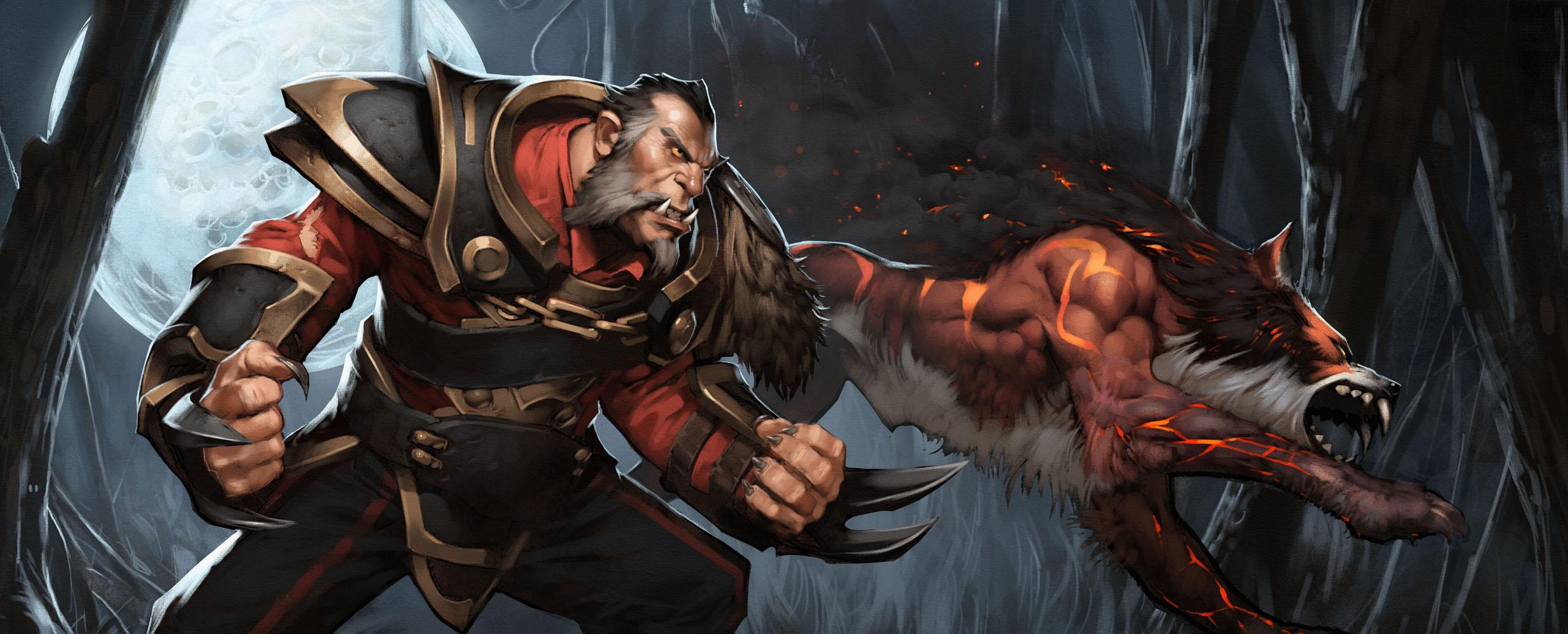 Loạt ảnh nguyên họa của các hero trong DotA 2 - Ảnh 16