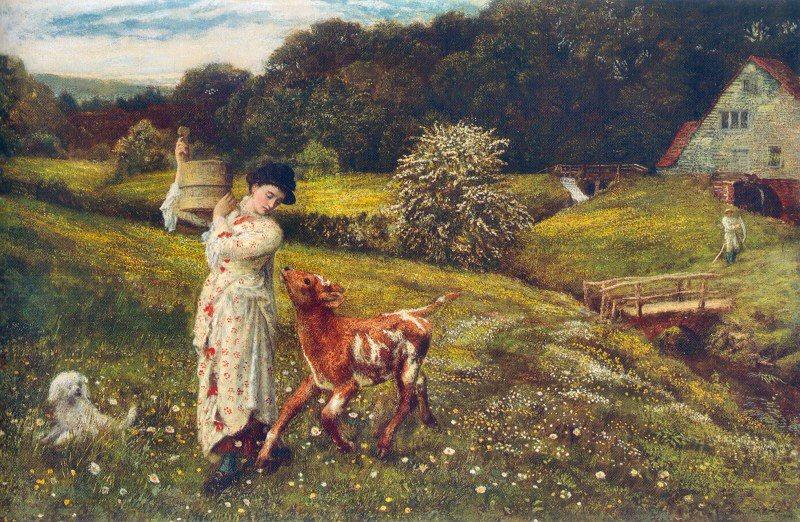 Arthur Hughes - Returning Home