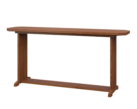Santego Sofa Table in Vermont Maple