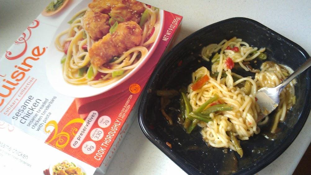 Enjoying Lean Cuisine while doing C25K
