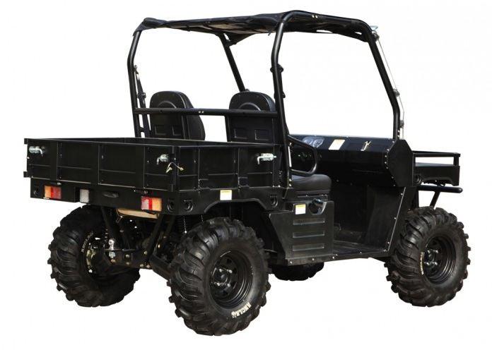 500cc Agmax Military Atomik Agricultural Farm UTV Black