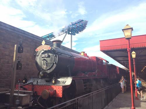 Hogwarts Express soft open