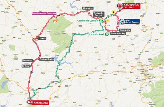 La Vuelta 2013. Etapa 9. Antequera - Valdepeñas de Jaén. @ Unipublic