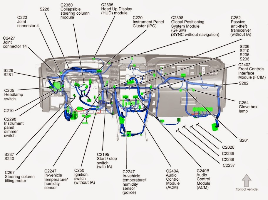 wiring diagram for the sony amplifer - ford taurus forum  ford taurus