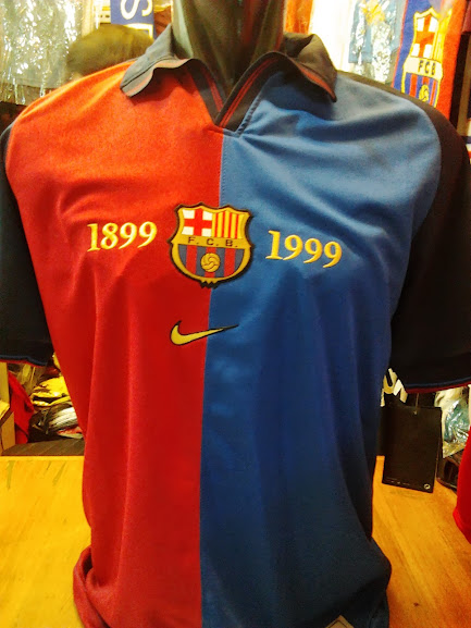 Jual Jersey Retro Barcelona 1999