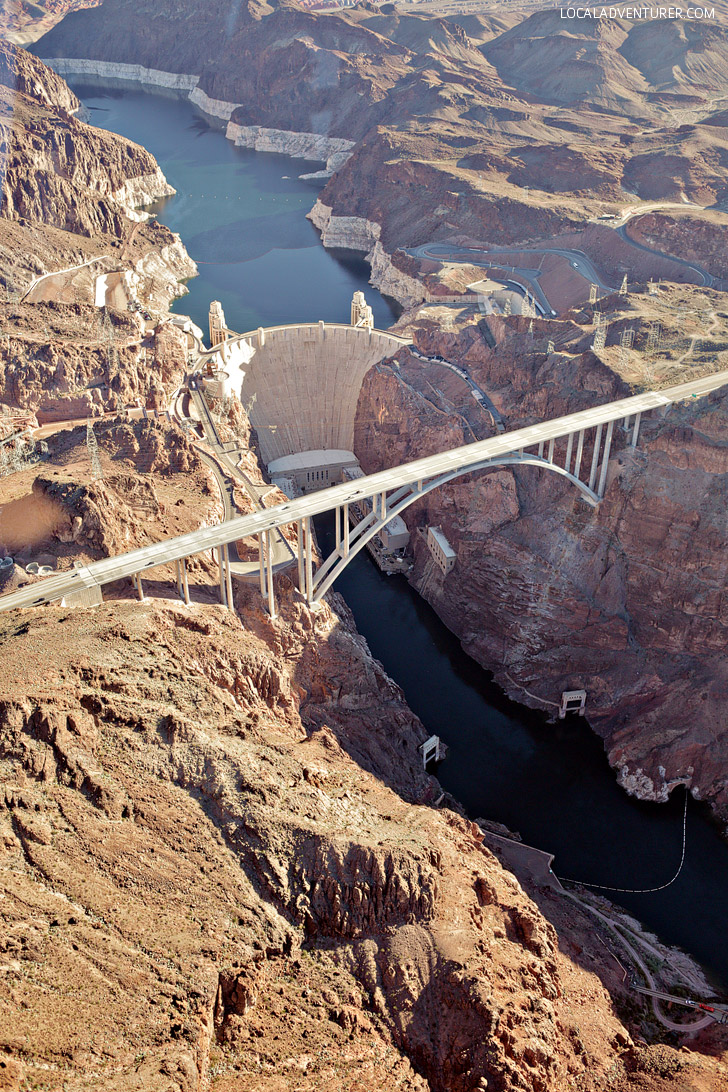 Hoover Dam - Las Vegas to Grand Canyon Tour with Maverick Helicopters.