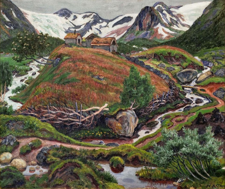 Nikolai Astrup - The Befring Farm