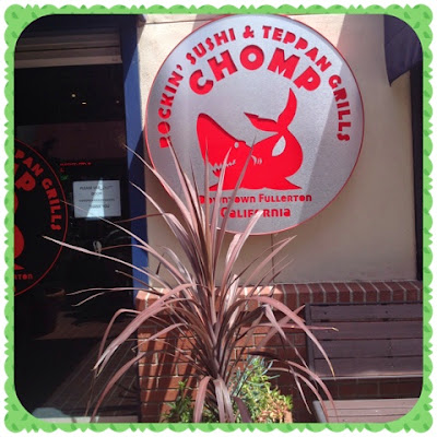 chomp sushi and Teppan Grill