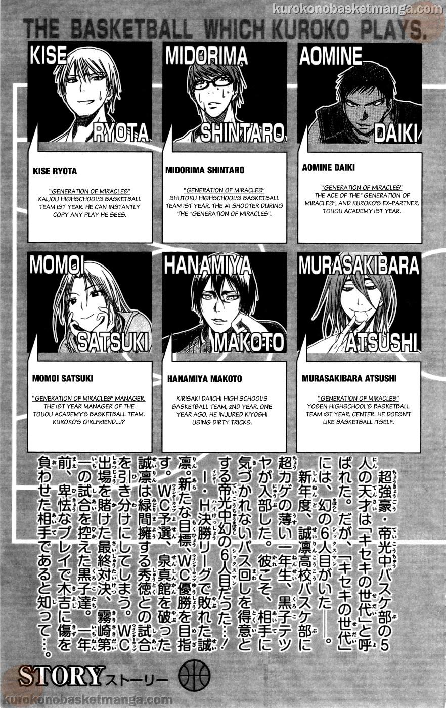 Kuroko no Basket Manga Chapter 100 - Image 03