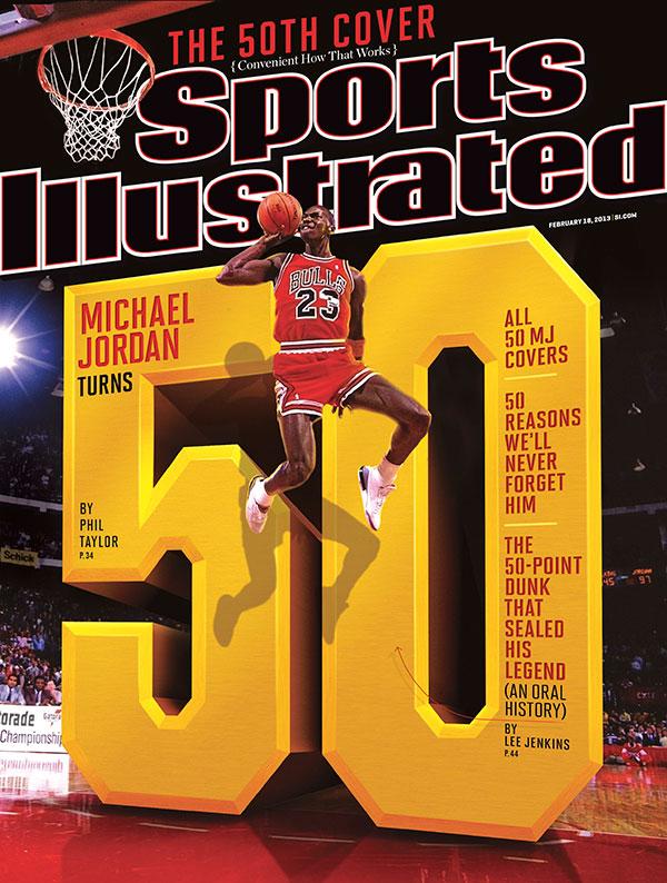 *Sports Illustrated:慶祝Michael Jordan 50歲生日封面特輯回顧! 1