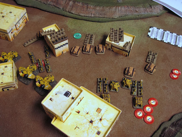 Tacticals double on a Mech coy, laying a PM. The other tacs engage. The Mech coy drags the other Tacs in.