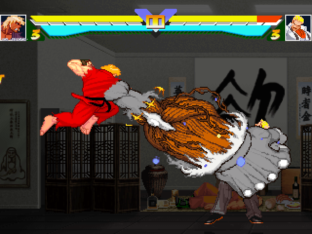 Ken Masters -ReHyped- for Win MUGEN & 1.+ Mugen020