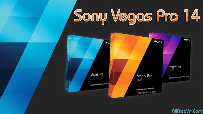Download Sony Vegas Pro 14 Full 2017 - Phần mềm dựng phim chuyên nghiệp