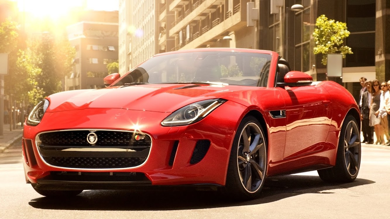 "Jaguar F-Type ""Biggest Want"" TV Spot"