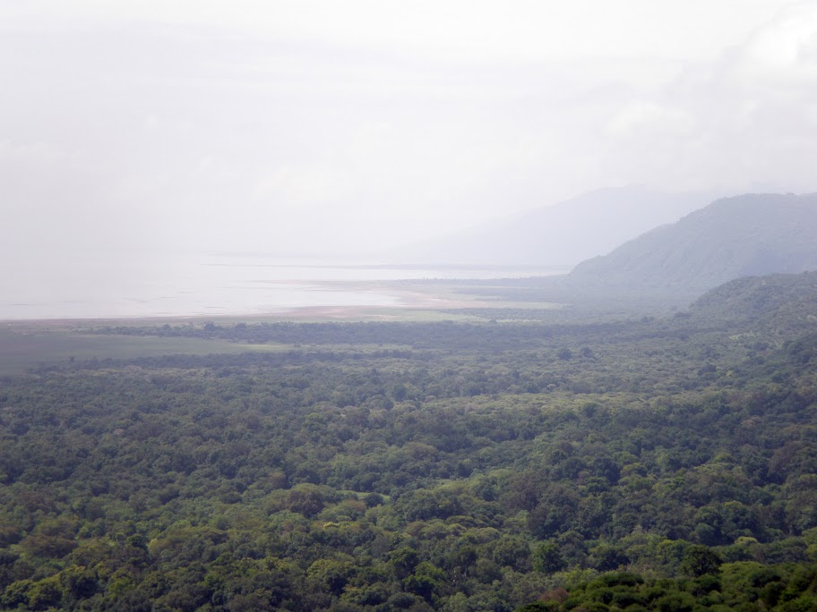Edge of the Great Rift Valley overlooking Lake Manyara