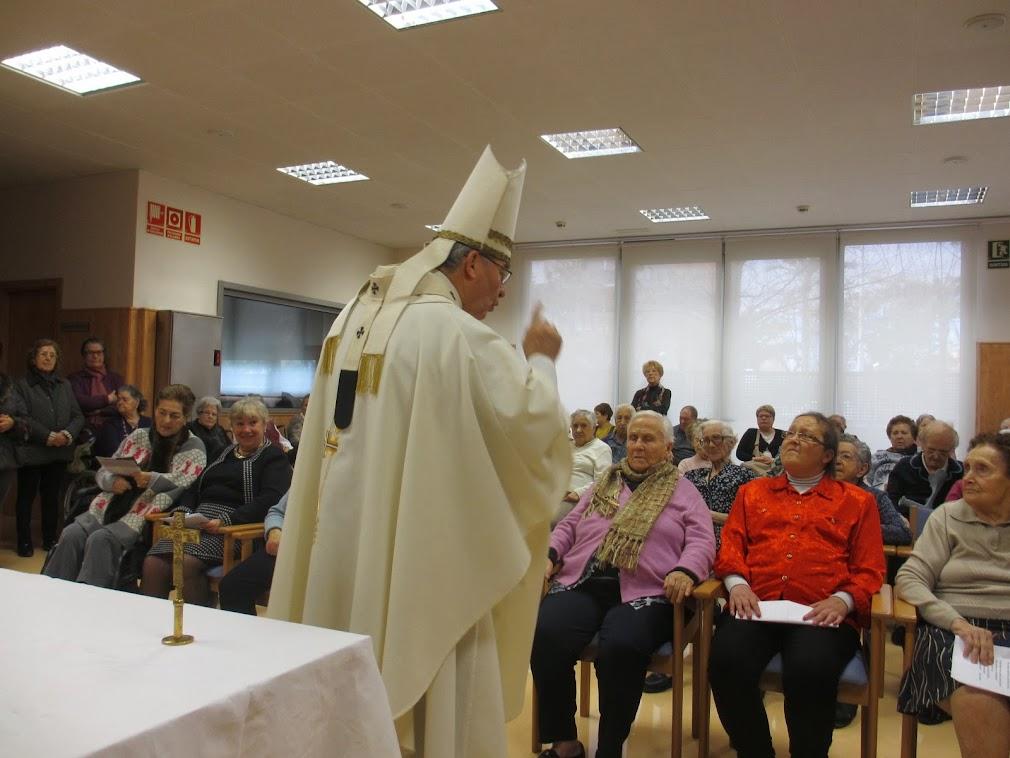 Eucaristia a la residència