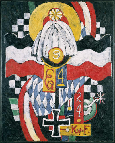 Marsden Hartley - Painting No. 47, Berlin, 1914-15