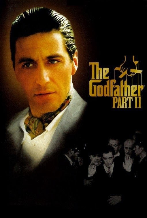 Poster Of The Godfather Part II (1974) Full Movie Hindi Dubbed Free Download Watch Online At Alldownloads4u.Com