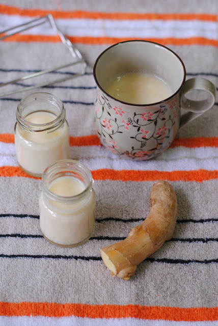 Ginger milk curd recipe by ServicefromHeart