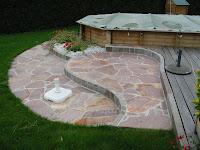 Constructeur de terrasse en pierre Haute savoie Annemasse