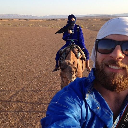 uma noite no deserto marrocos