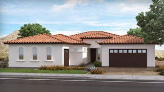 Revelation floor in Destiny Series plan by Lennar Homes in Layton Lakes Gilbert AZ 85297