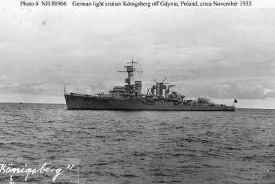 El Crucero Konigsberg