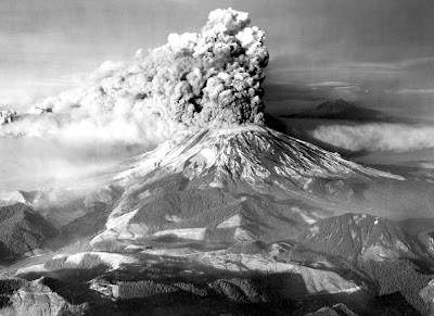 Mt. Saint Helens Volcano - Washington, United States (May 1980)