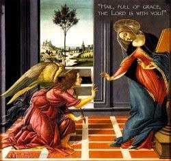 Nghe giảng lễ Truyền Tin 25.3