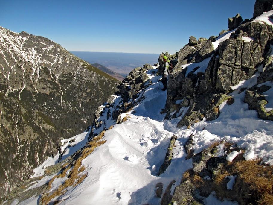 Sławkowski Szczyt szlak zima