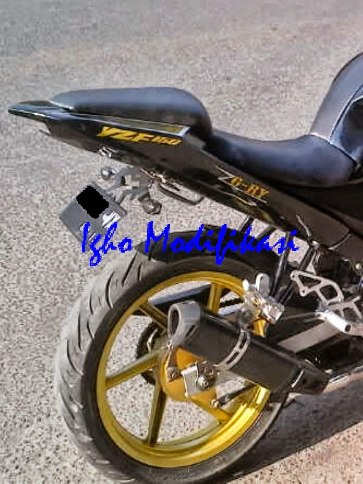 109 Modif Spakbor Belakang Vixion Lama Modifikasi Motor Vixion Terbaru