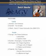 Programa de Concierto de Kokichi Akasaka