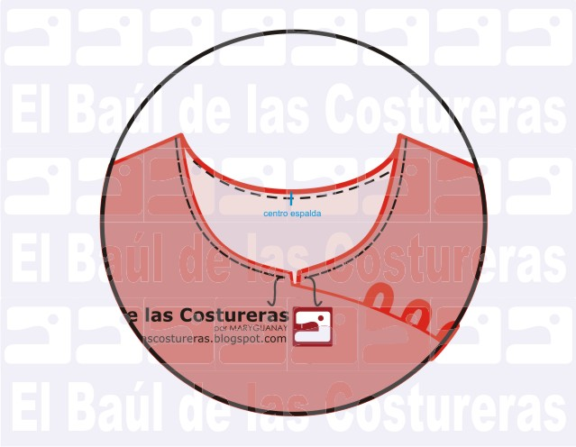 Vestido y Blusa oriental. Parte 3. Confección y Costura de Cuello de ...