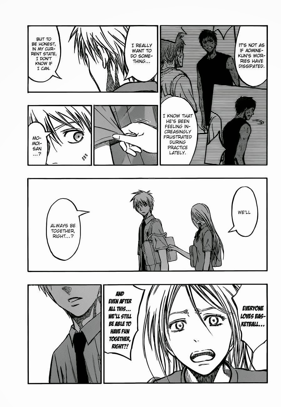 Kuroko no Basket Manga Chapter 220 - Image 07