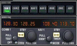 comment regler la radio dans fsx