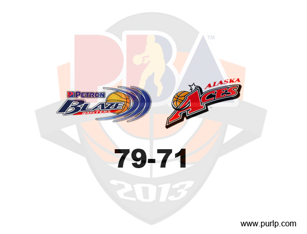 PBA Cup - Alaska vs Petron - Winner Results - 12-05-2012