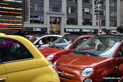 Fiat 500 in New York