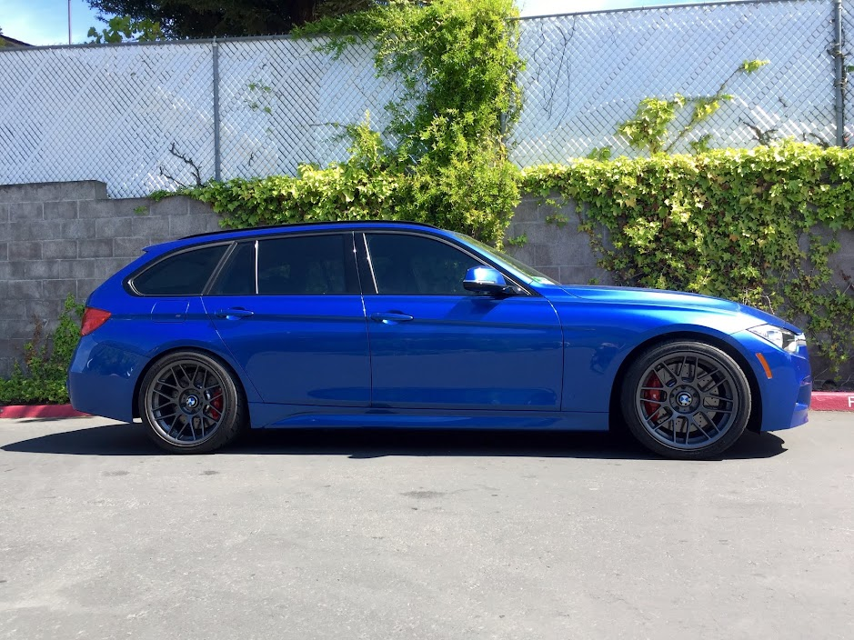 Bilstein xDrive PSS10 B16 coilovers on F31  Pics, install