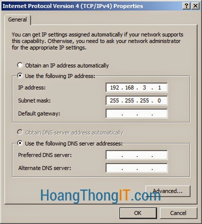 cài đặt Routing and Remote Access