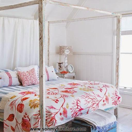 Những mẫu phòng ngủ thoáng mát cho mùa hè_nội thất phòng ngủ-2