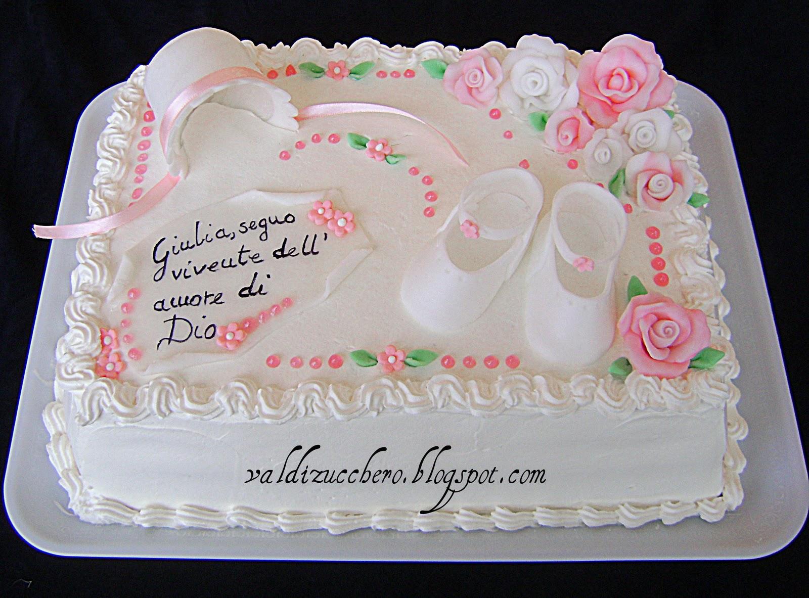 Val di zucchero un dolce battesimo - Decorazioni per battesimo bimba ...