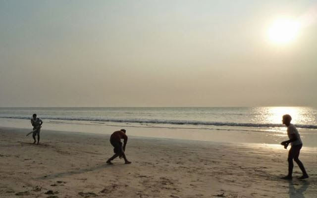 Juhu Beach cricket