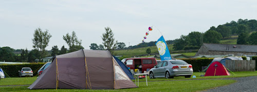 Camping  at Knights Stainforth