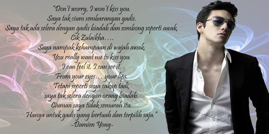 Damien Yong Awak Suka Saya Tak?