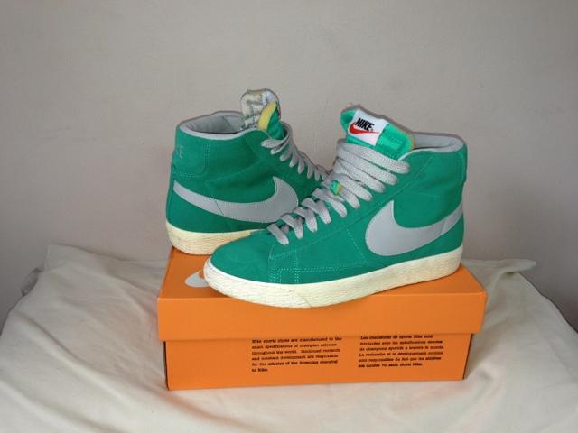 Atomic Teal Nike Blazers
